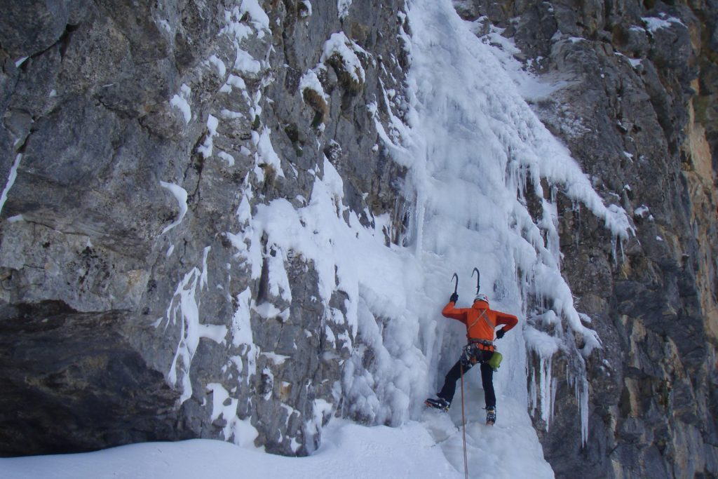 Ice Climbing/Αναρρίχηση σε Πάγο