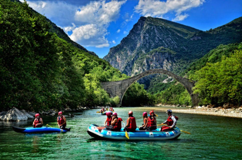 Rafting στον Άραχθο/ Rafting in Arachthos