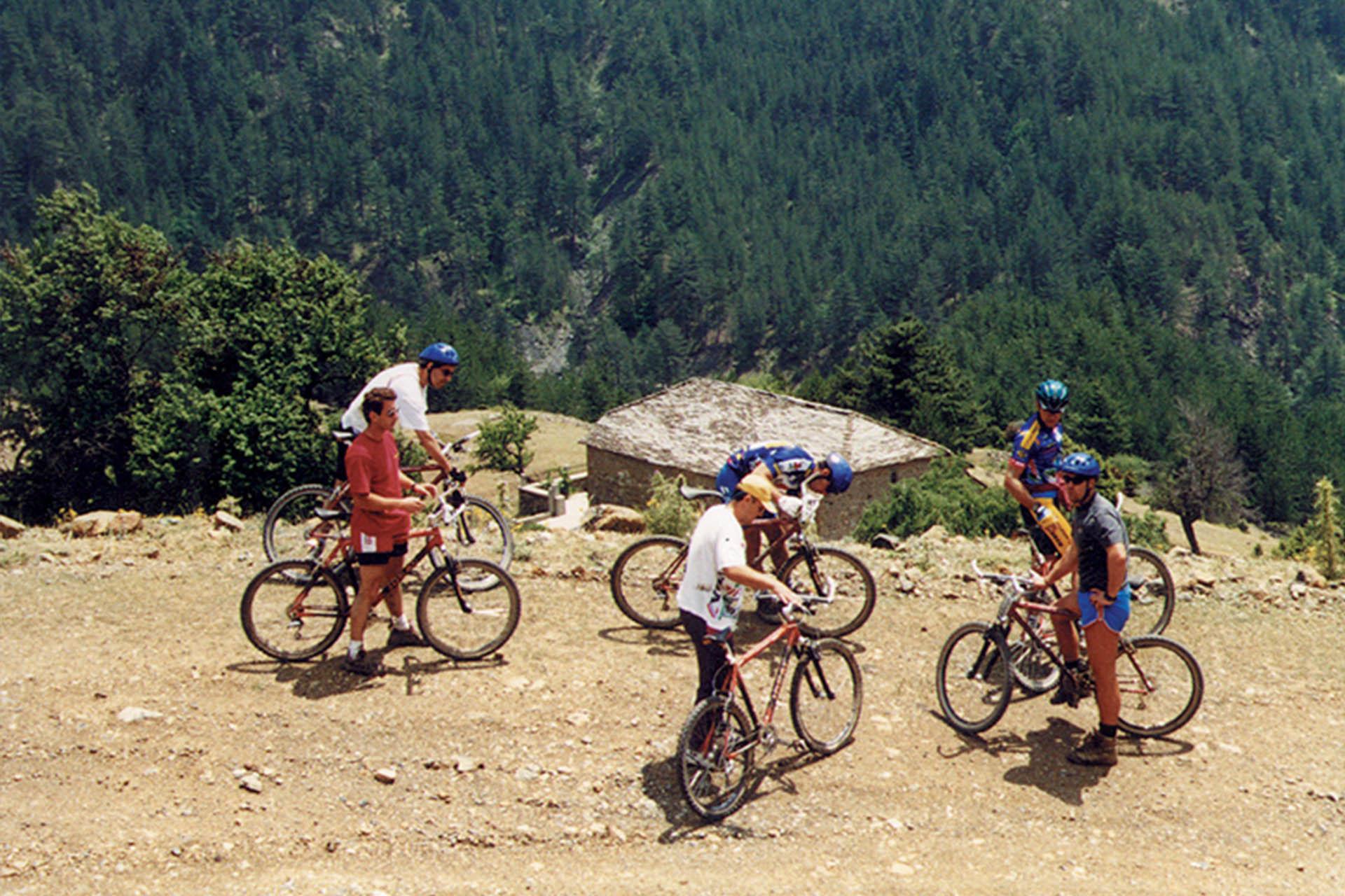 Moutanin Biking in Tzoumerka/Ορεινή ποδηλασία στα Τζουμέρκα
