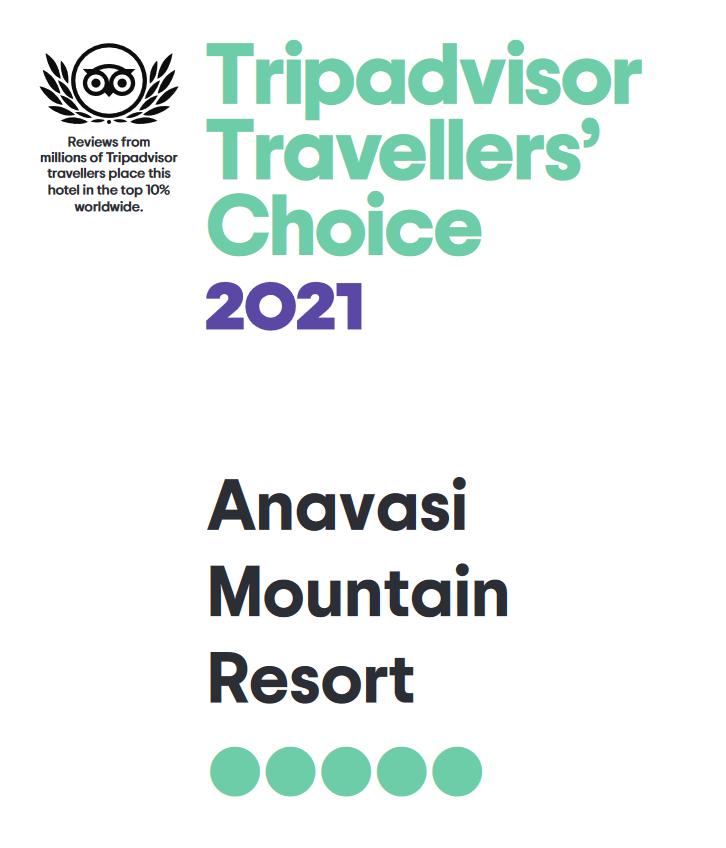 Trip Advisor Travellers' Coice